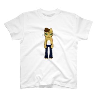 HumanCat<タトゥー>(透過ver.) T-shirts