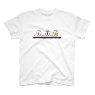 ハムスターはかく語りきB T-shirts