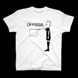 千田純生のオフサイドさん T-shirts