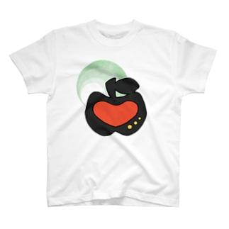 #02 アップルハート(あか) T-shirts