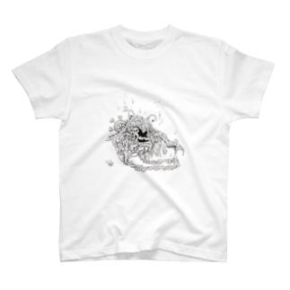 カニ的な甲殻類 T-shirts