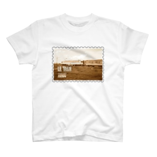 FUCHSGOLDのモロッコ:列車★白地の製品だけご利用ください!! Morocco: Train★Recommend for white base products only !! T-shirts