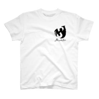 Shinsuke Sada Goods ShopのSHINSUKE SADA オフィシャルロゴグッズ T-shirts