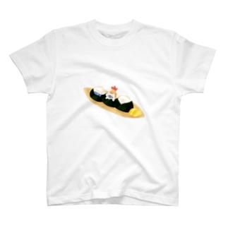 おにぎりねこ T-shirts