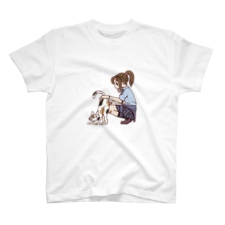 JKと三毛猫 T-shirts