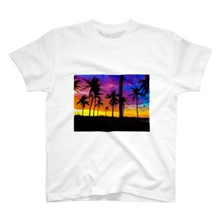 あの日見た空 T-shirts