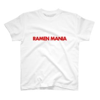 ラーメンマニア T-shirts