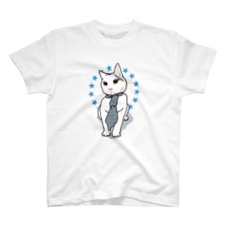オシャレな仔猫ちゃん T-shirts
