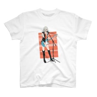 ギターボーカル T-shirts