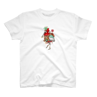 道案内鳥 T-shirts
