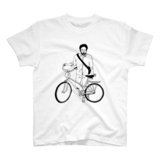 自転車男子 T-shirts