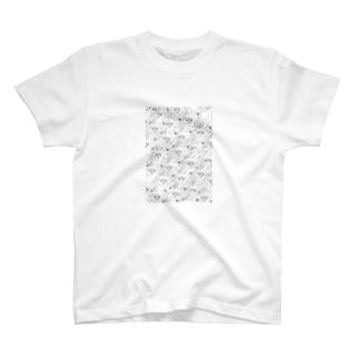 猫2 T-shirts