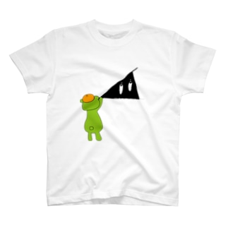 イッちゃんがスリスリくんを描いているというていでお願いします T-shirts