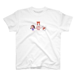 おきつねさまとわたし T-shirts