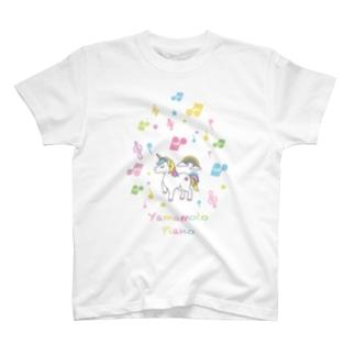 Yamamoto Piano T-shirts