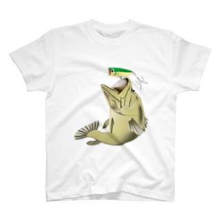 ランカーブラックバス T-shirts