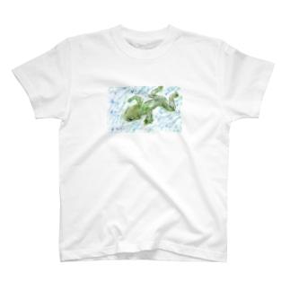 カエルのミカエル T-shirts