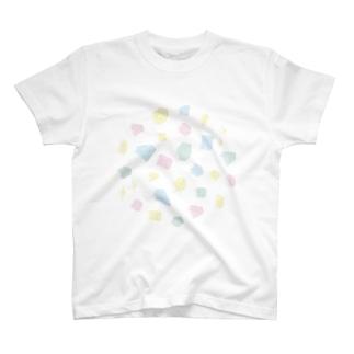 カラフル宝石箱 T-shirts