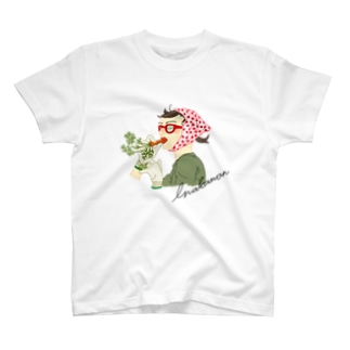 inakamon レッド T-shirts