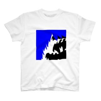 青い心 T-shirts
