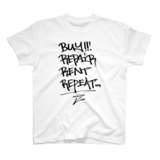 buy.repair.rent.repeat T-shirts