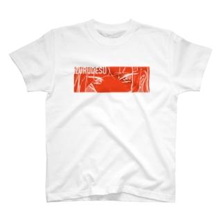 目で訴えかけてる T-shirts