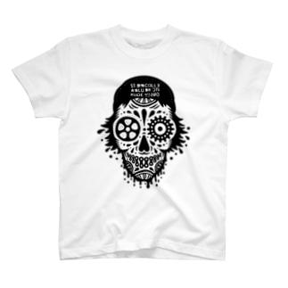 スカルスケーターくん T-shirts