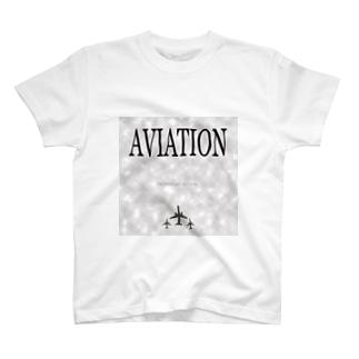#41 「AVIATION」~所沢市~ T-shirts