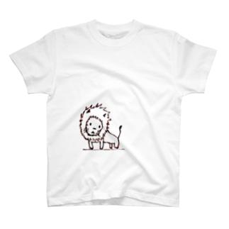 たそがれライオン T-shirts