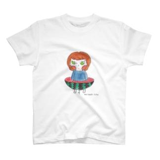 すいかぱんつ T-shirts