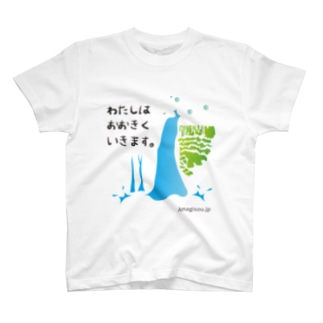 伊豆の大滝(青緑) T-shirts