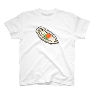 生牡蠣 T-shirts