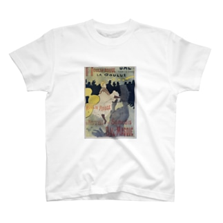 Poster for 'Le Moulin Rouge', Henri de Toulouse-Lautrec T-shirts