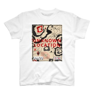 地理地図 T-shirts