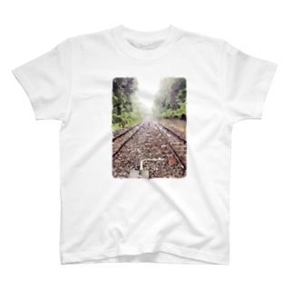 線路な世界 T-shirts
