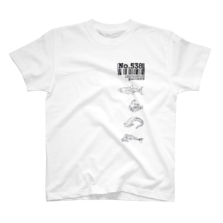 No.538サカナ T-shirts