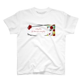 Estoy feliz : red rose T-shirts
