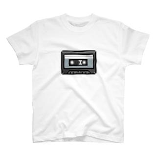 cassette-tape T-shirts