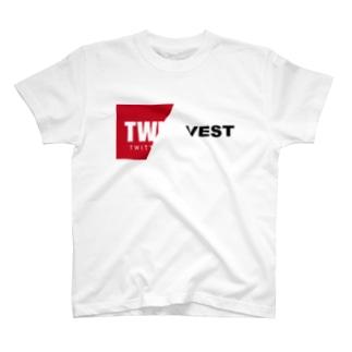 twinvest label T-shirts