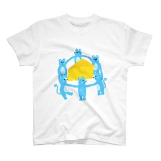 ネズミチーズ T-shirts