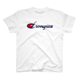 カレーライスのチャンピョン T-shirts