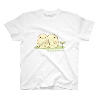 ひよこの毎日 T-shirts