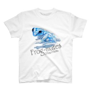 カエルメイトより「アオゾラガエル」 T-shirts