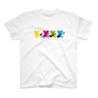 起動くまバンド T-shirts