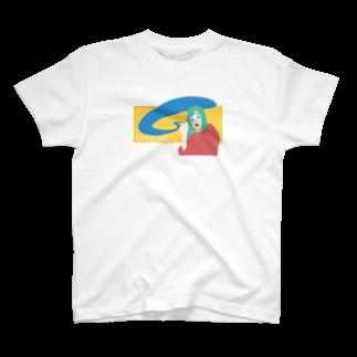 UNKNOWN RECORDのbriquet. T-shirts
