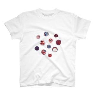 【日本レトロ#24】おはじき T-shirts
