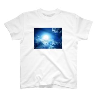 龍神☆ブルー T-shirts
