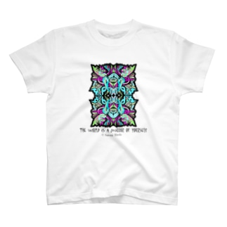 The world is a mirror of yourself T-shirts