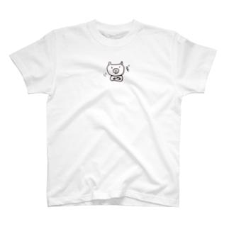 うなずきぶた T-shirts