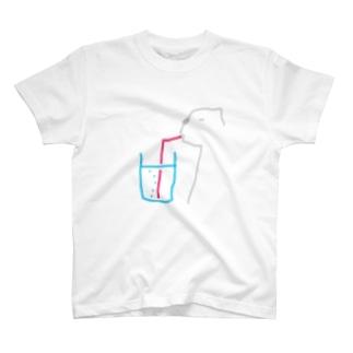 フランスクマ・バブル T-shirts